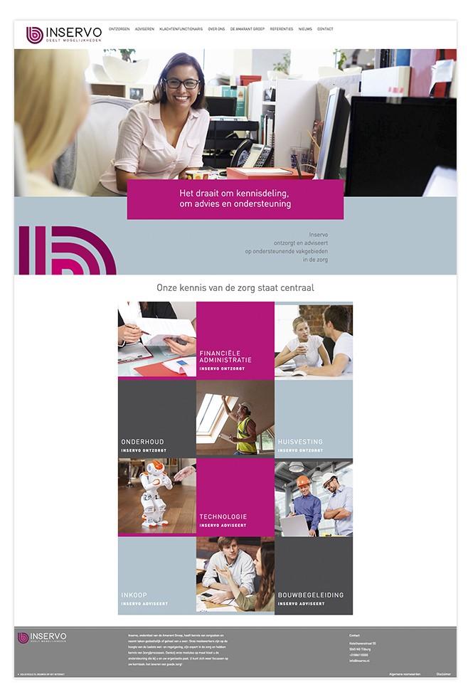 inservo-portfolio-website